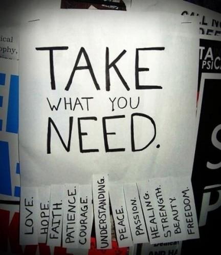 takewhatyouneed