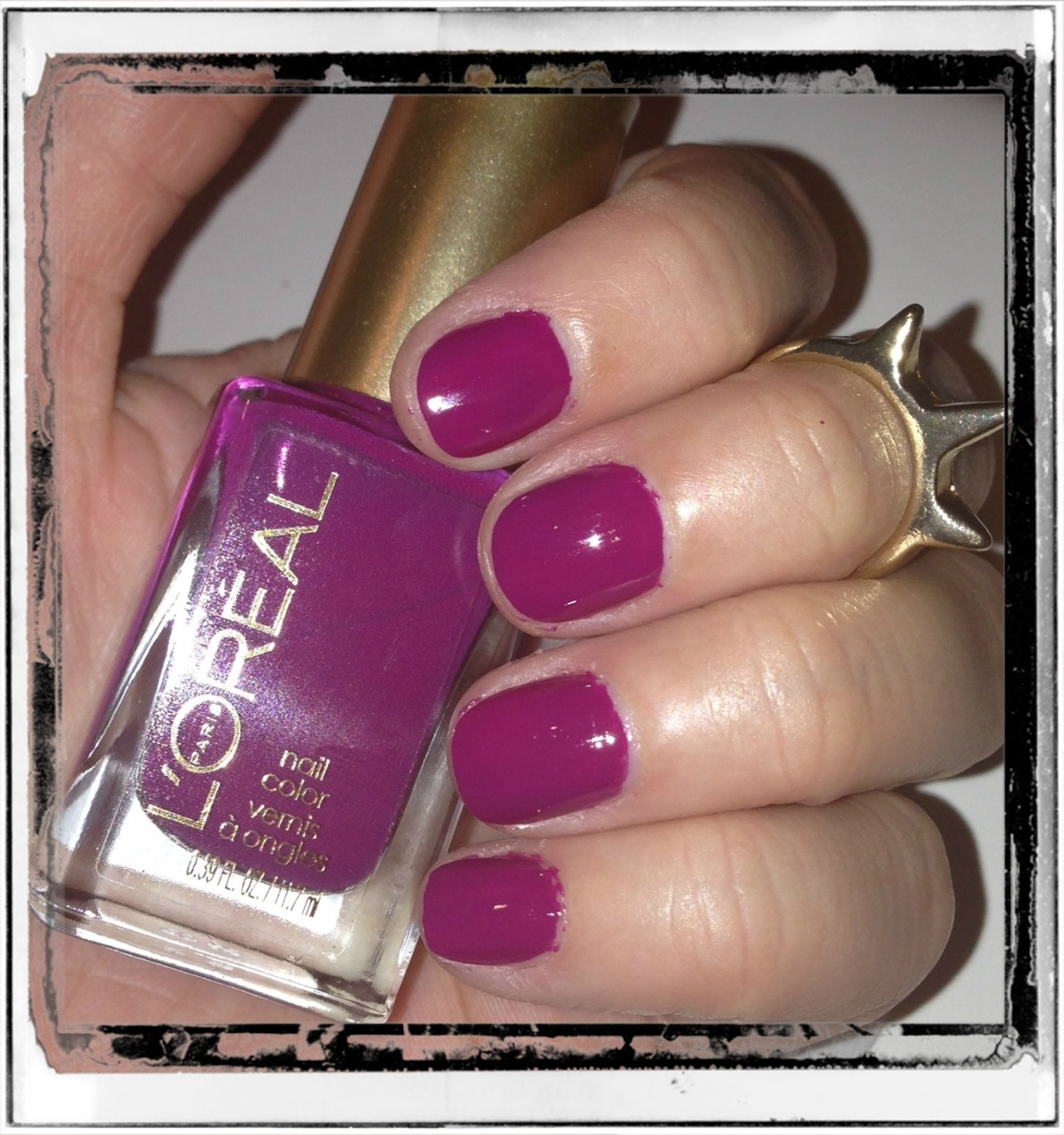 Nails – Violet Vixen – Pearls and Paris