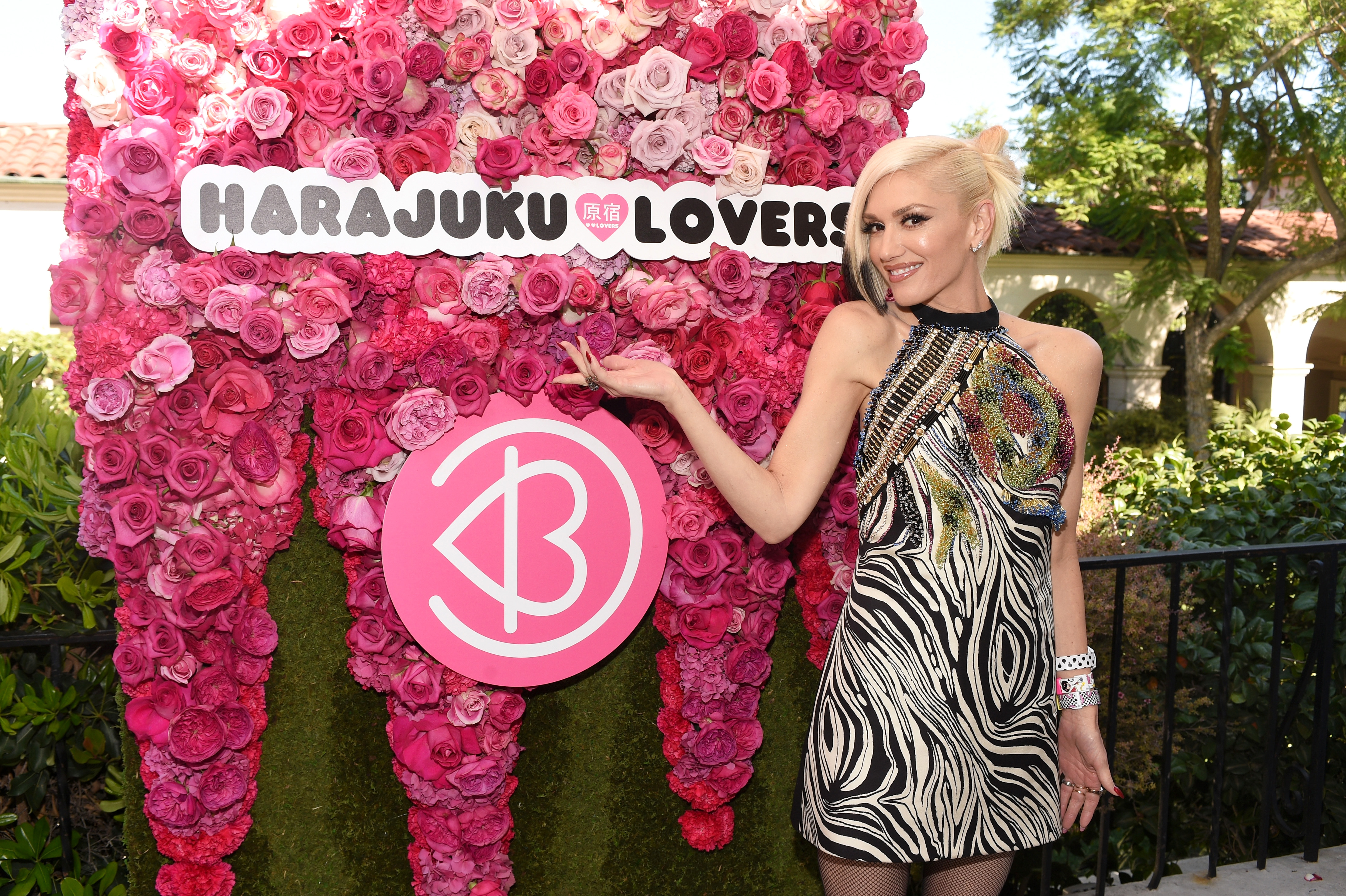 LOS ANGELES, CA - JULY 10:  Singer Gwen Stefani attends Harajuku Lovers #PopElectric High Tea at The Ebell Club of Los Angeles on July 10, 2015 in Los Angeles, California.  (Photo by Stefanie Keenan/Getty Images for BeautyCon)