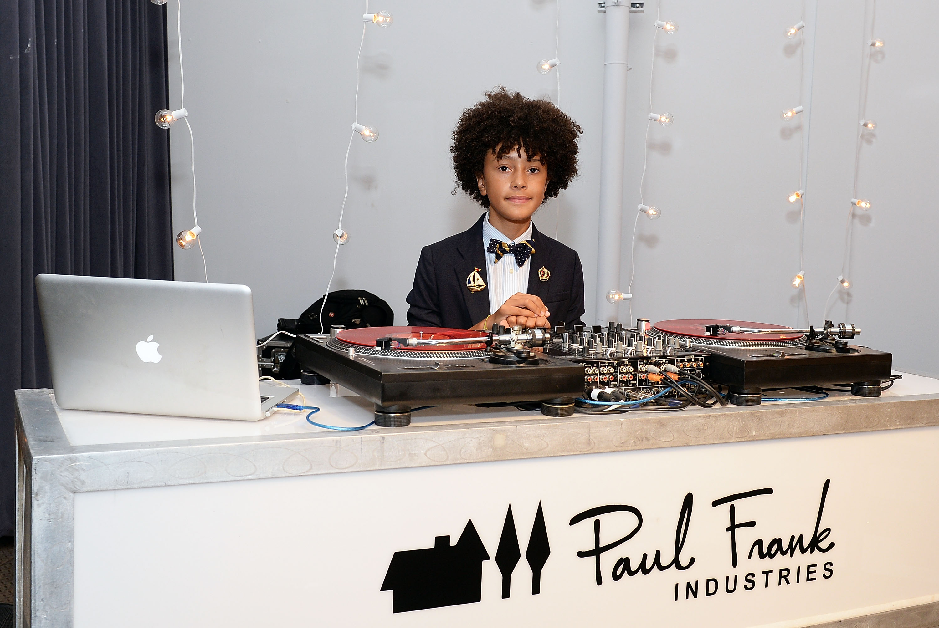 NEW YORK, NY - SEPTEMBER 10: DJ Fulano attends Paul Frank Industries' debut of children's Spring/Summer 2016 collection at New York Fashion Week on September 10, 2015 in New York City. (Photo by Slaven Vlasic/Getty Images for Paul Frank Industries)