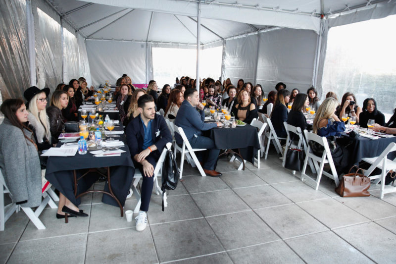 Guests are seen at the Simply Stylist New York Fashion and Beauty Conference at YOTEL on Saturday, Nov. 5, 2016, in New York City. (Photo by Soul Brother)